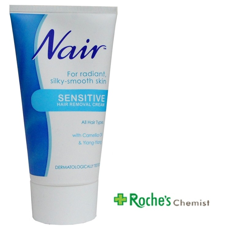 Nair Sensitive Hair Removal Cream 150ml Blue Roche S Chemist