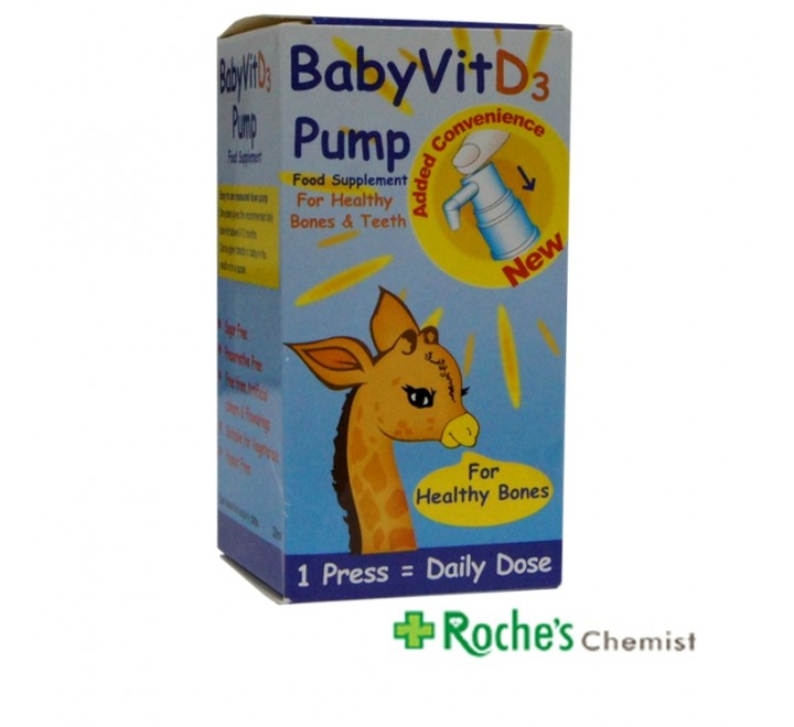 Baby D3 Vitamins for babies by Kora Healthcare