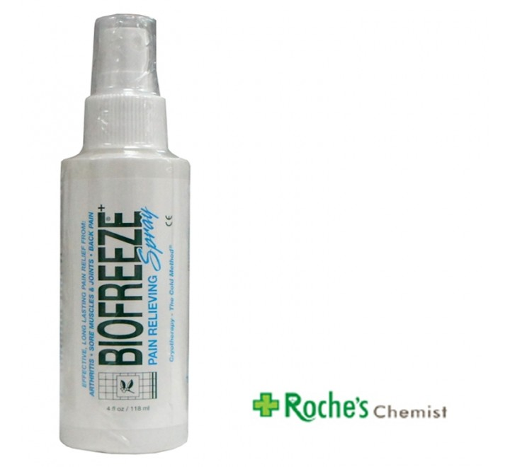 Biofreeze Cold Spray for Pain Relief 118ml