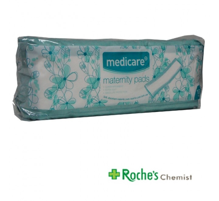 Medicare Maternity Pads x 10 Extra Absorbant