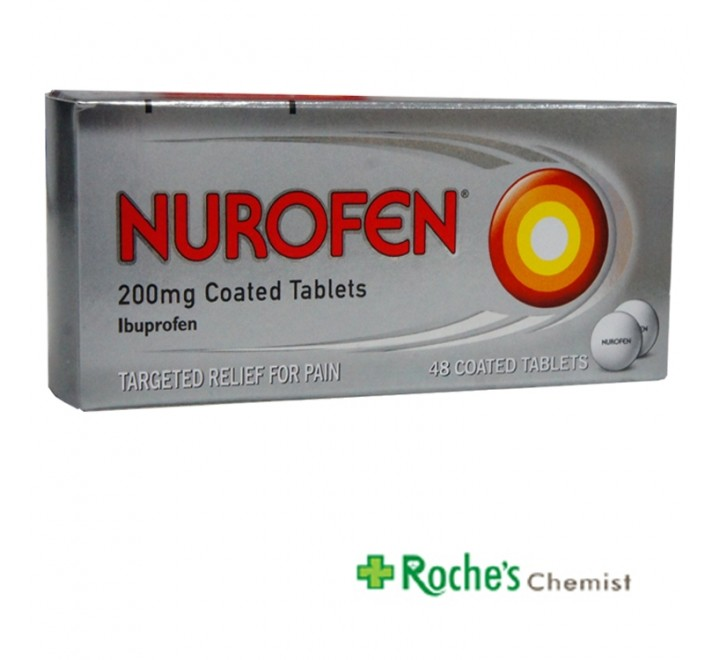 Nurofen 200mg tablets x 48