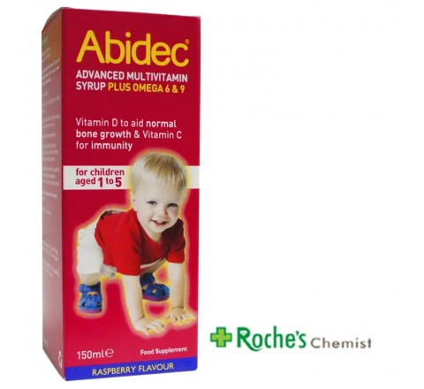 Abidec Advanced Multivitamin Syrup 150ml