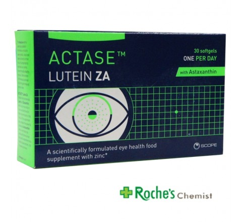 Actase Lutein ZA 30 Softgels