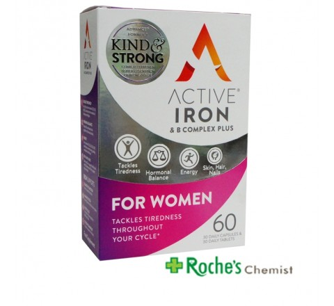 Active Iron for Women x 60 capsules