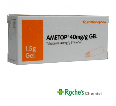 Ametop 40mg/g Tetracaine Anaesthetic gel 1.5g