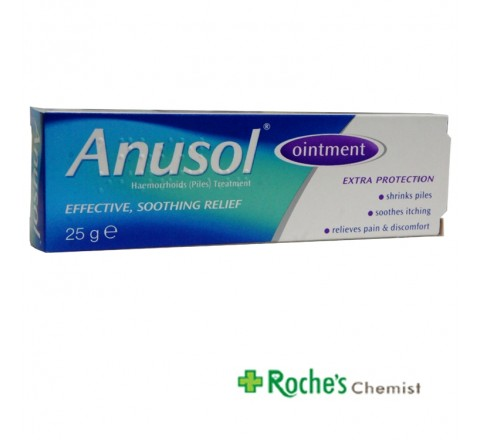 Anusol Ointment 25g for Haemorroids