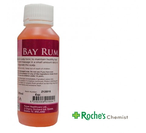 Bay Rum 125ml hair conditioner by Forans