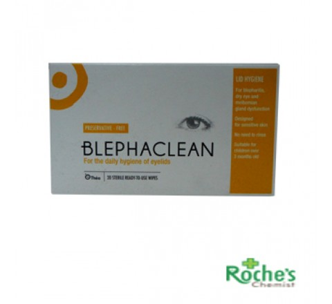 Blephaclean wipes