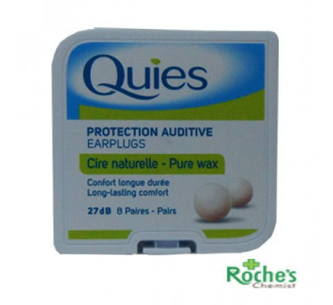 Boules Quies Wax Ear Plugs x 8 pairs