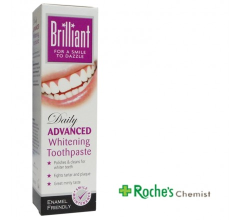 Brilliant Advanced Daily Whitening Toothpaste 100ml