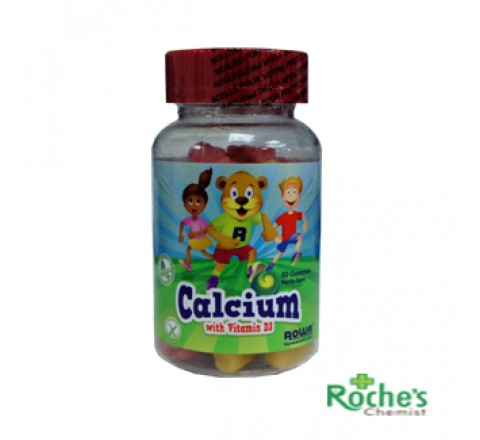 Calcium Gummies by Rowa