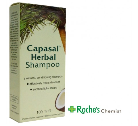 Capasal Herbal Shampoo 100ml
