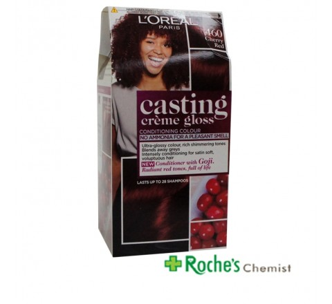 Casting Creme Gloss 460 Cherry Red - Lasts 24 shampoos