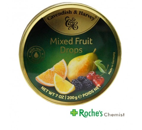 Cavendish and Harvey Mixed Fruit Drops x 200g