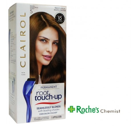 Clairol Root Touch Up 5 Medium Brown - Permanent hair Colour