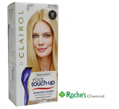Clairol Permanent Root Touch Up 9 Light Blonde