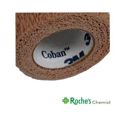 Coban Dressing 100mm x 4.5m Self Adhering Bandage
