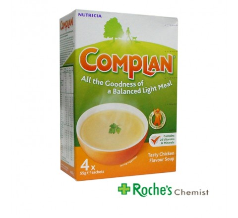 Complan Sachets 4 x 55g Chicken Soup Flavour