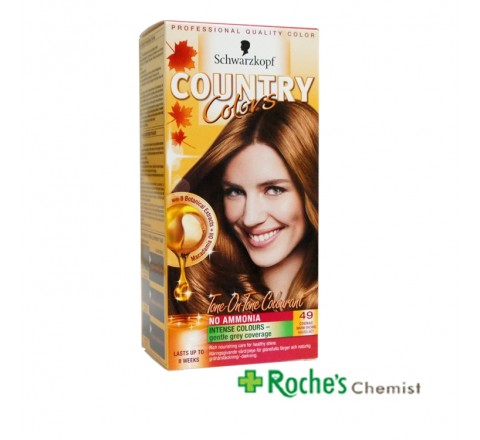 Country Colours Cognac 49 Warm Brown - Ammonia Free