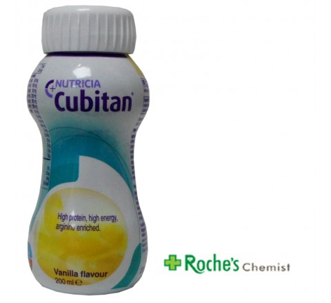 Cubitan Vanilla 200ml Nutrition for Wound healing