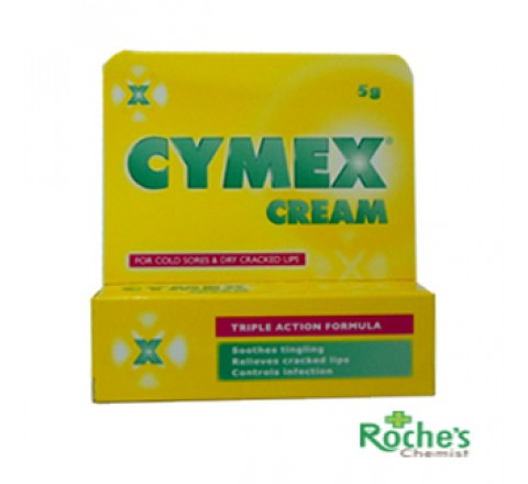 Cymex Cold Sore Cream 5g