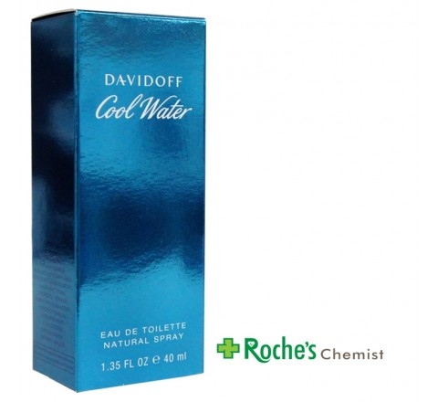 Davidoff Cool Water EDT Spray 40ml