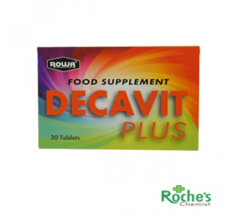 Decavit Plus Multivitamin x 30