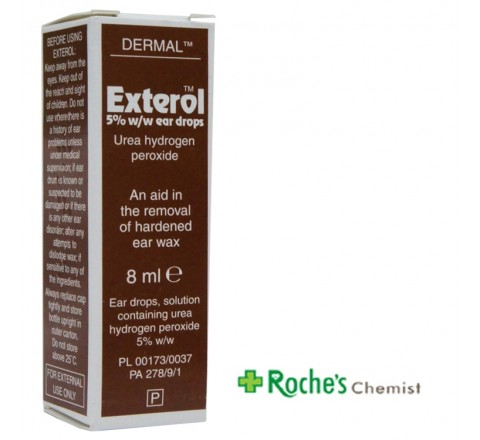 Dermal Exterol Ear Drops 8ml