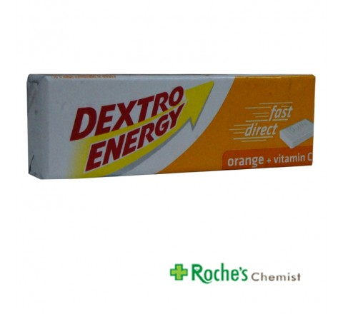 Dextro Energy Orange Dextrose tablets 47g