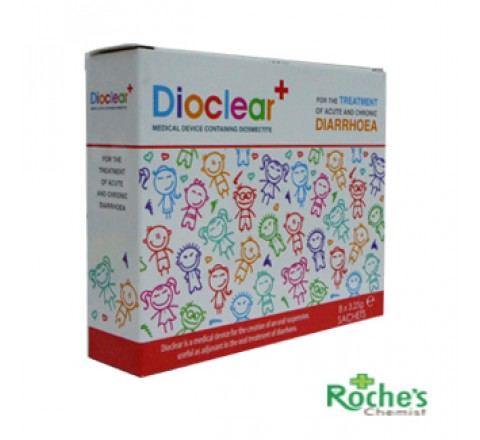 Dioclear x 8 sachets for Adult diarrhoea