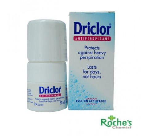 Driclor for Excessive Sweating