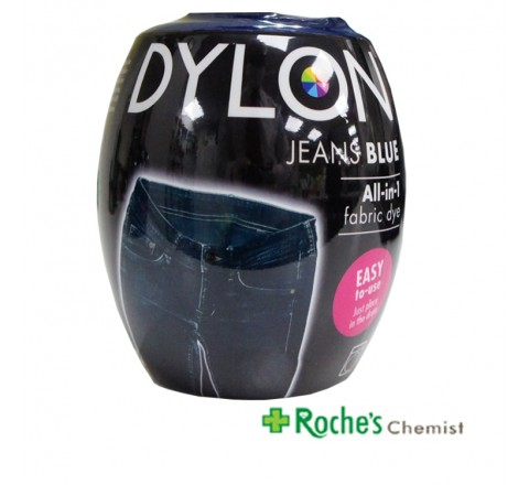 Dylon Machine Dye Jeans Blue - All in 1 Fabric Dye 350g