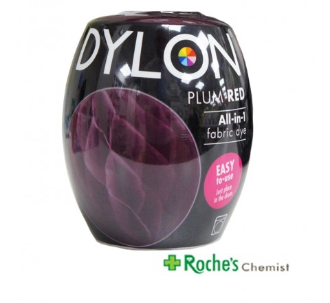 Dylon Machine Dye Plum Red 350g