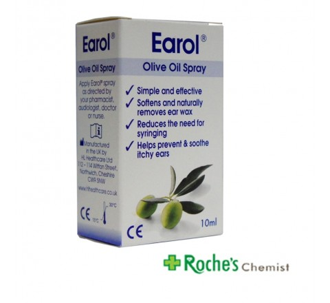 Earol Olive Oil Ear Wax Spray 10ml