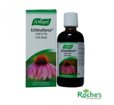 A Vogel Echinaforce Cold and Flu Drops 50ml