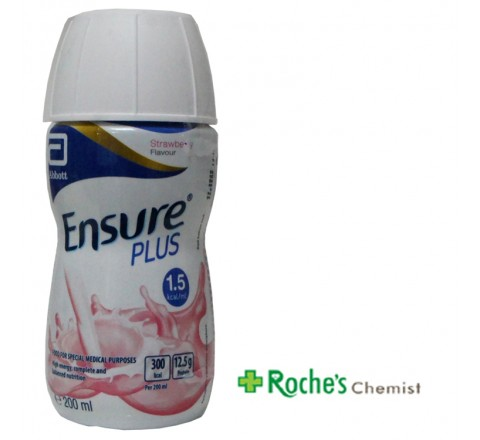 Ensure Plus 1.5kcal Strawberry 200ml
