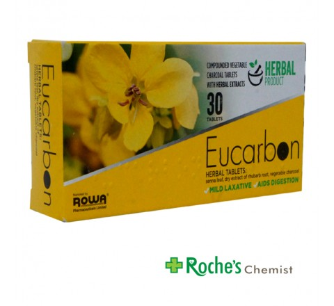 Eucarbon Herbal Tablets x 30