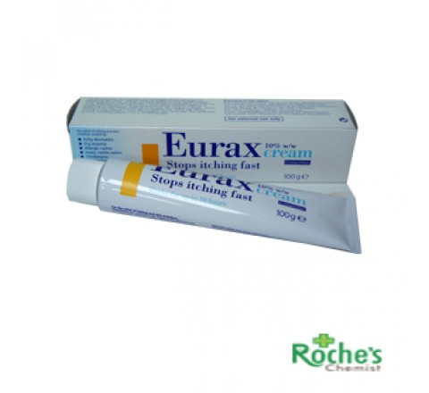 Eurax Cream 100g for itching