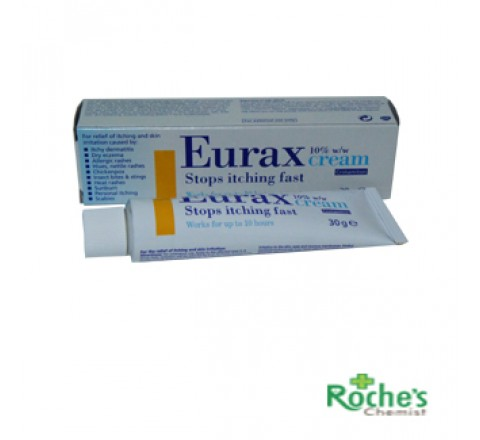 Eurax Cream 30g for itching