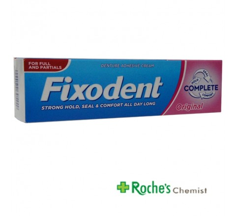 Fixodent Complete Original 47g Dental Adhesive
