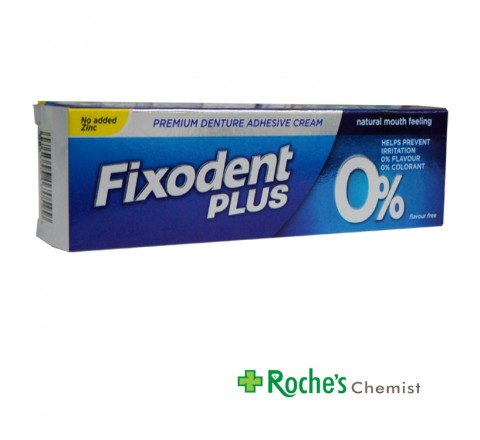 Fixodent Plus 40g Dental Adhesive