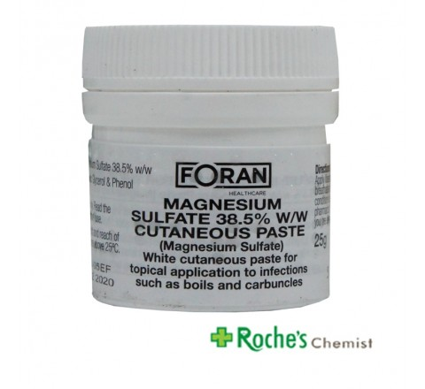 Magnesium Sulphate Paste 25g by Forans