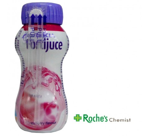 Fortijuce High Energy Drink Strawberry 200ml