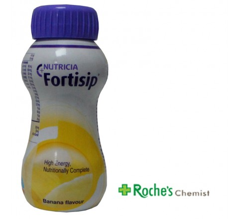 Fortisip Banana 200ml Nutritionally Complete Sip Feed