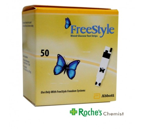 Freestyle Blood Glucose Testing Strips