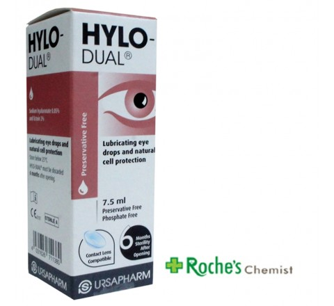 Hylo Dual 7.5ml Long Life Eye Lubricant