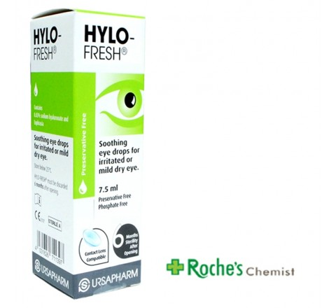 Hylo Fresh Lubricant Eye Drops 7.5ml x 1