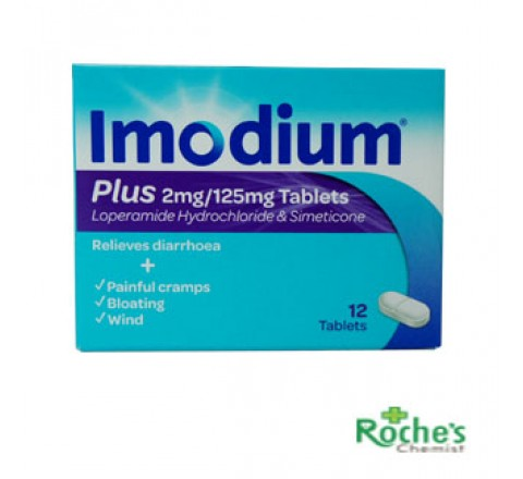 Imodium Plus 12's