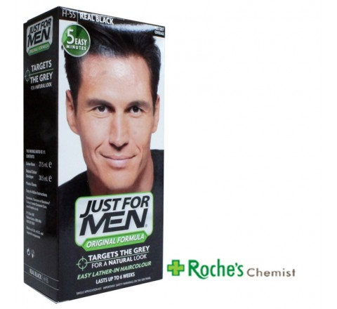 Just for Men Original H-55 Real Black x 1