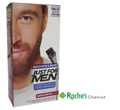 Just for Men M-35 Medium Brown for Beards